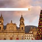 Colombia navideña, la imagen de hoy en BING
