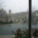 Sí llueve en el Sur de California!
