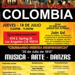 Empiezan las celebraciones de la Independencia de Colombia!