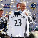 David Beckham, el número 23