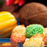 coco, miel, halloween, postre, receta, dulce