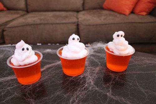 Fantasmas, gelatina