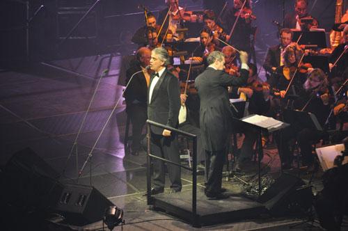 Andrea Bocelli concierto