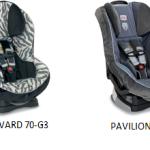 Britax G3: Las sillas para niños más seguras