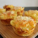 Coronitas de macarrones con queso