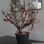 Decorando para Halloween: árbol tenebroso