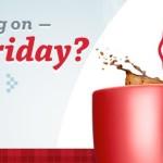 Black Friday = Café gratis