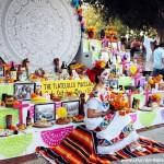 Noche de altares en Santa Ana