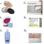6 productos recomendados de Neutrogena