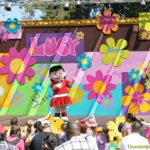 Miércoles Mudo: Fiesta de primavera en Knott's Berry Farm