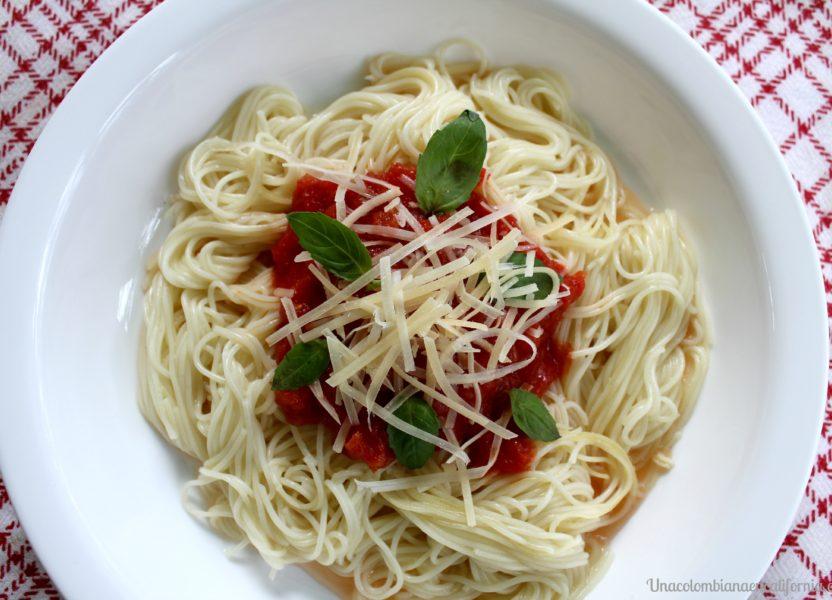 Cómo preparar y congelar salsa de tomate