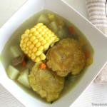 Sopa de patacón