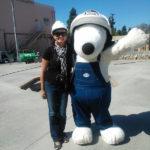 Miércoles Mudo: Con el ingeniero Snoopy
