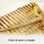 Crepes de queso y arequipe