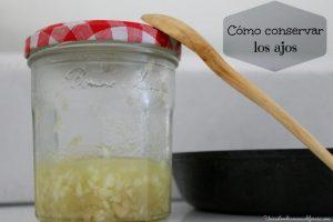 Cómo conservar los ajos