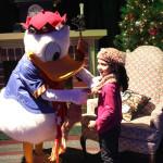 Navidad con el pato Donald