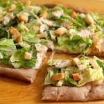 Pizza de ensalada César