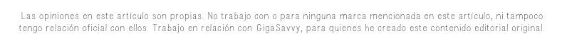 Aclaratoria GigaSavvy