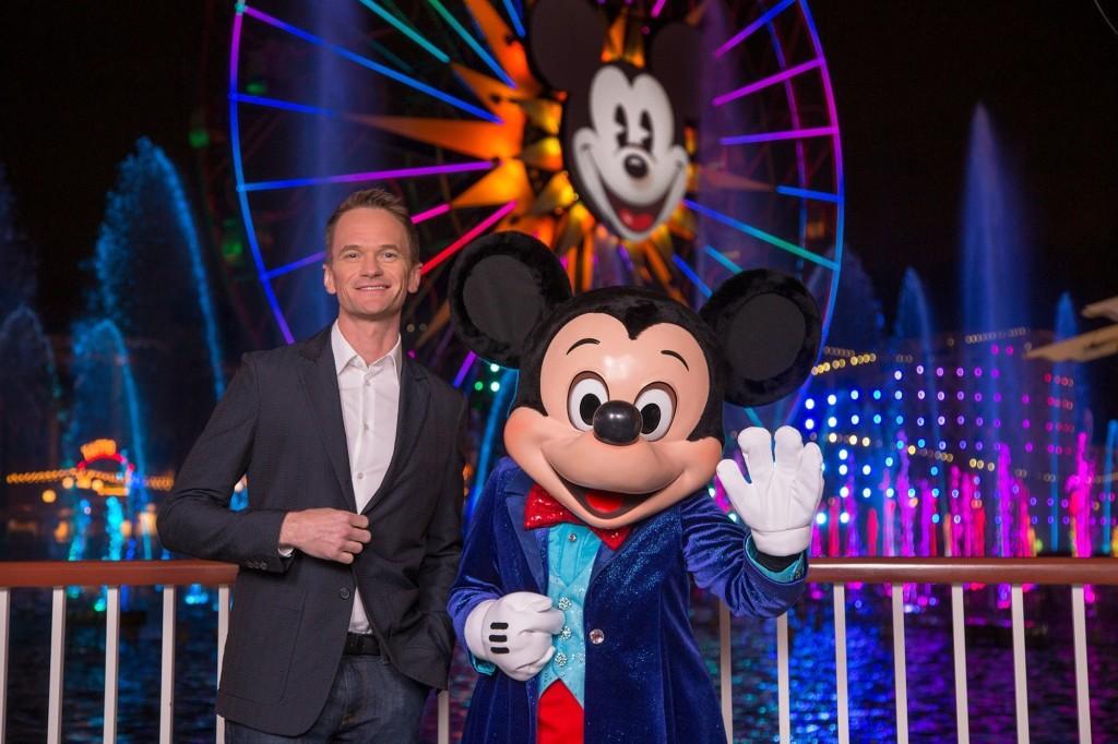 World of color aniversario diamante de Disneyland