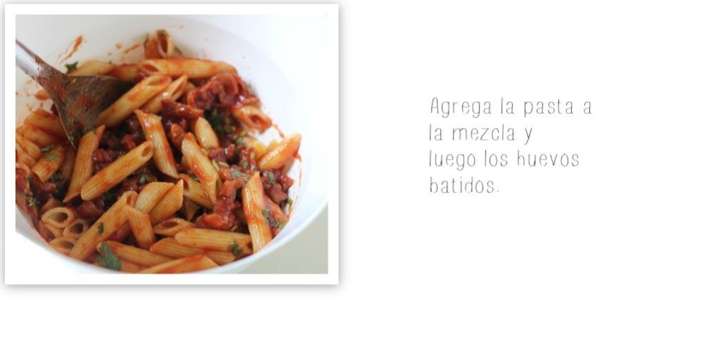 tortilla de pasta receta 5