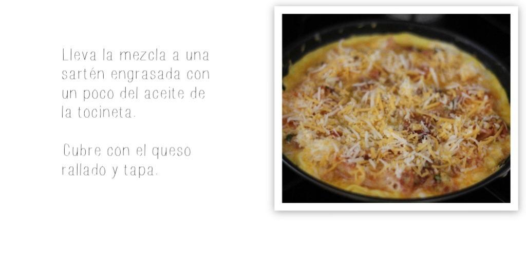 tortilla de pasta receta 6