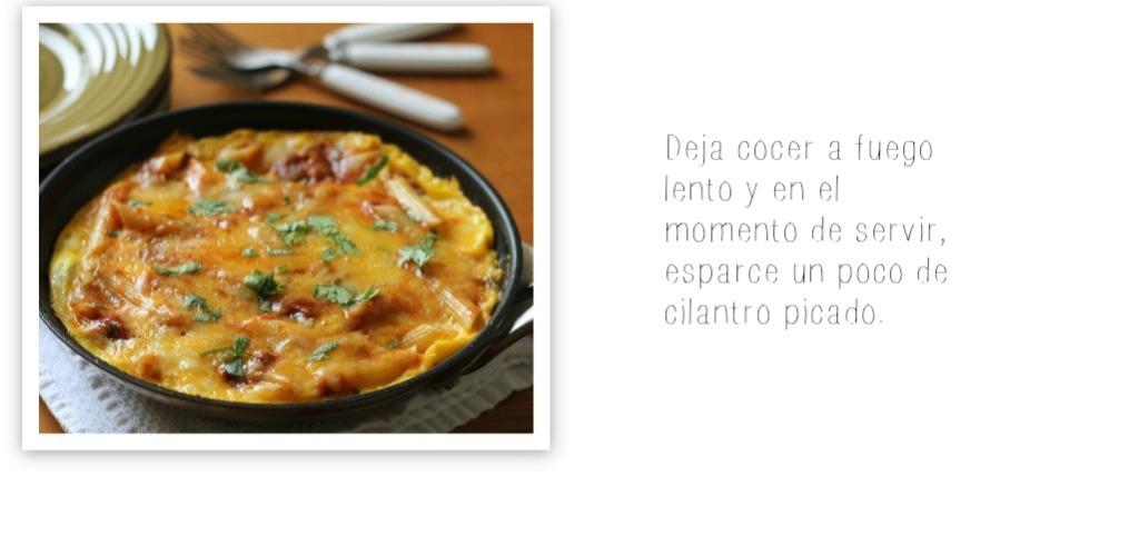 tortilla de pasta receta 8