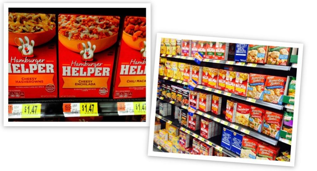 Hamburger Helper Walmart #Helper