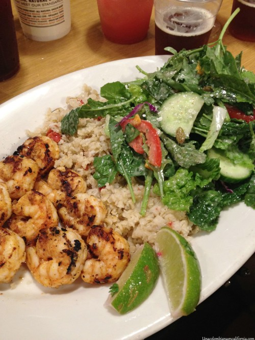 power plate shrimp sharkys woodfired mexican grill
