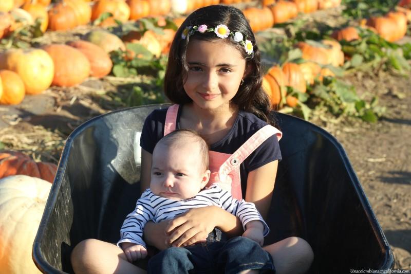 Primera visita al pumpkin patch UCEC