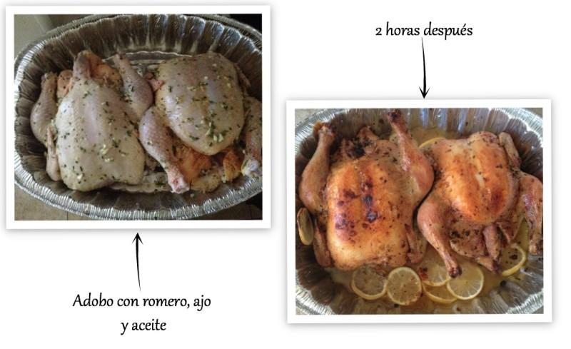 pollo asado al romero UCEC