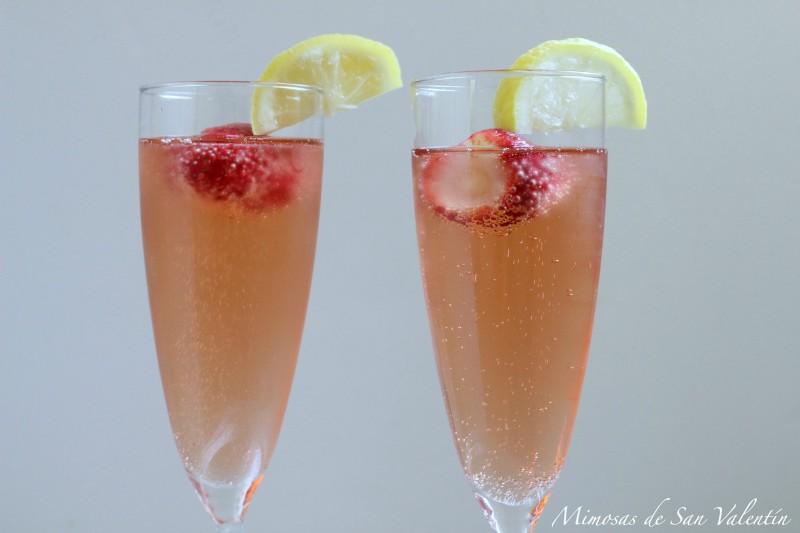 Mimosas de San Valentín QueRicaVida.com