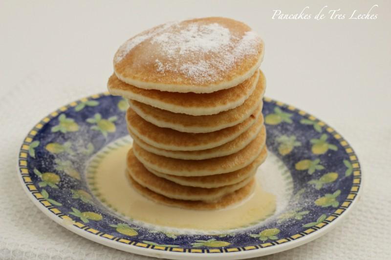 Pancakes de Tres Leches QueRicaVida.com