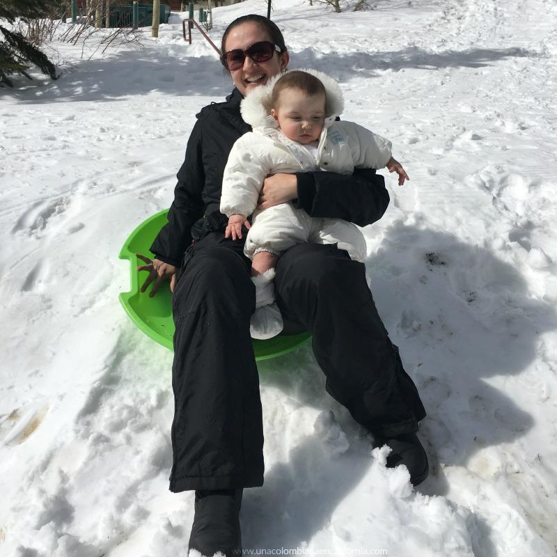 Niños en la nieve Mammoth #UCEC