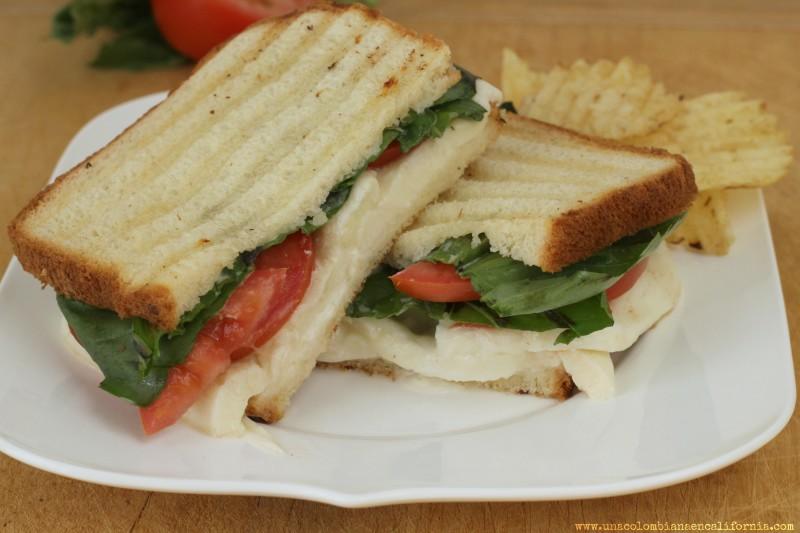 ideas para sandwiches sandwich caprese