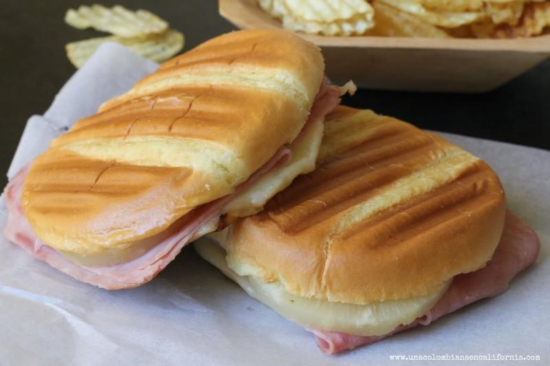 ideas para sandwiches sandwich hawaiano