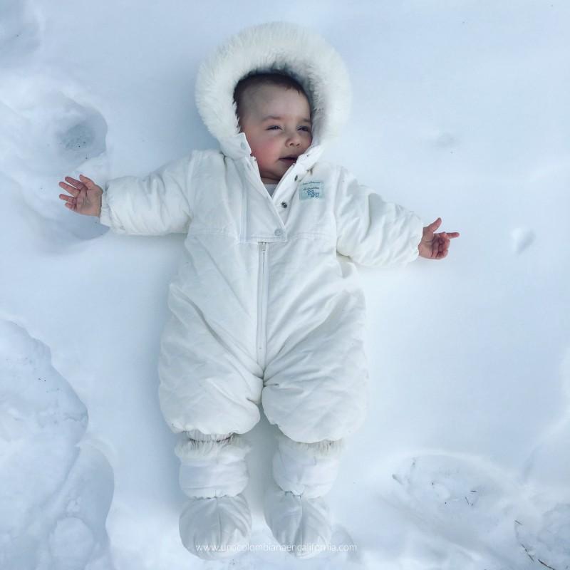 niños en la nieve Mammoth Lakes #UCEC