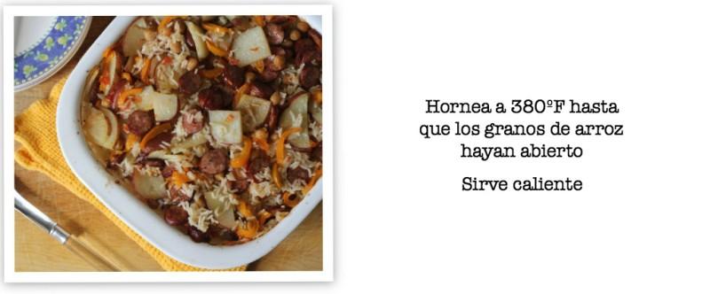 arroz al horno con salchichas receta 7 #WildSideOfFlavor