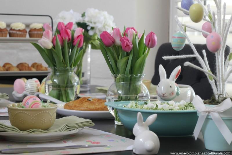Ideas para decorar una mesa de pascua - Como decorar una mesa para una fiesta ...