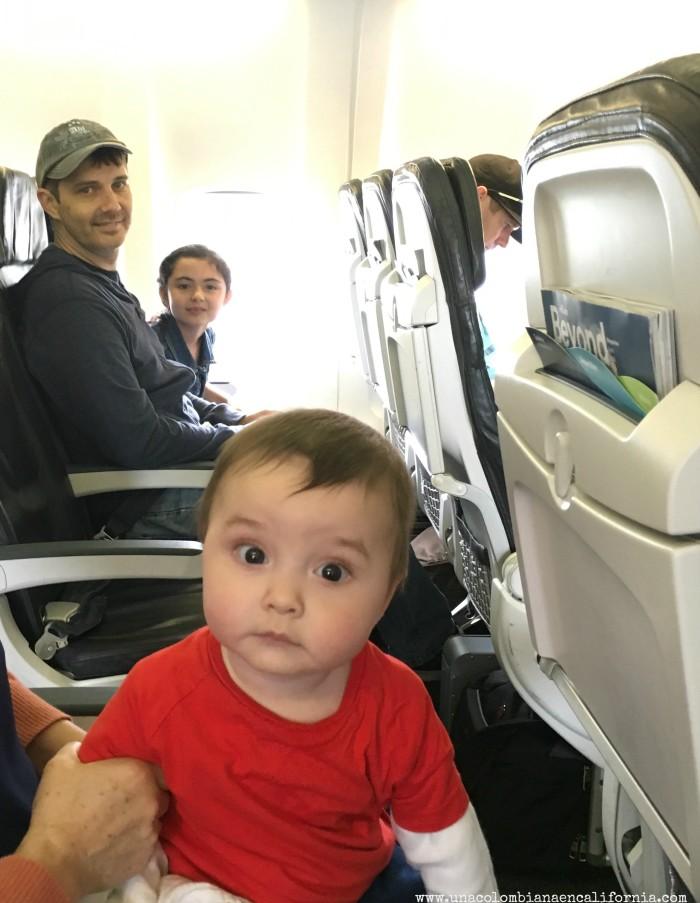 Viaja con bebes avion