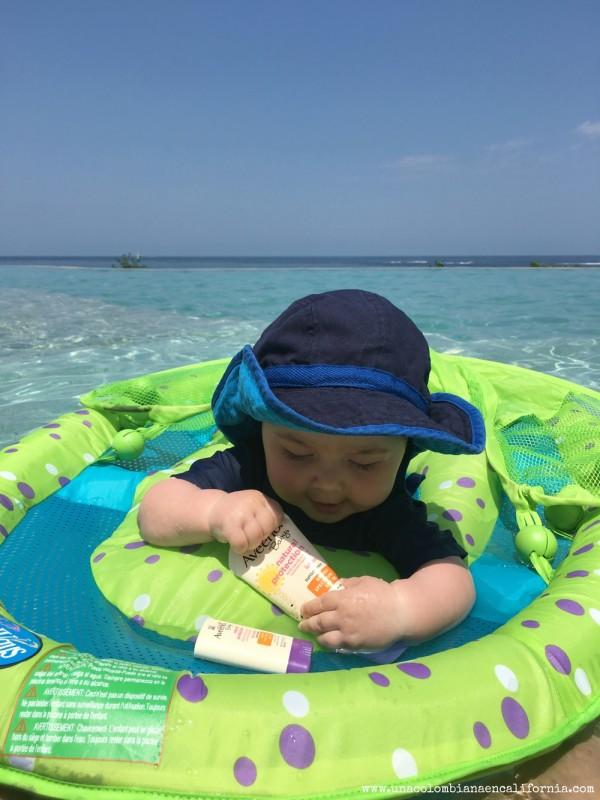 aveeno-bloqueadores-bebe-viaja con bebes