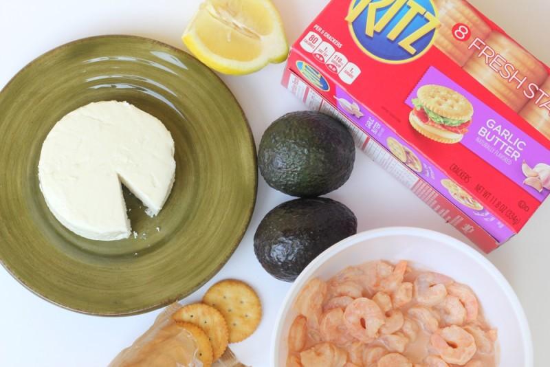 galletas-con-queso-y-coctel-de-camarones-ingredientes