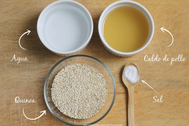como-preparar-quinoa-ingredientes