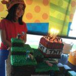 Cumpleaños al estilo Minecraft