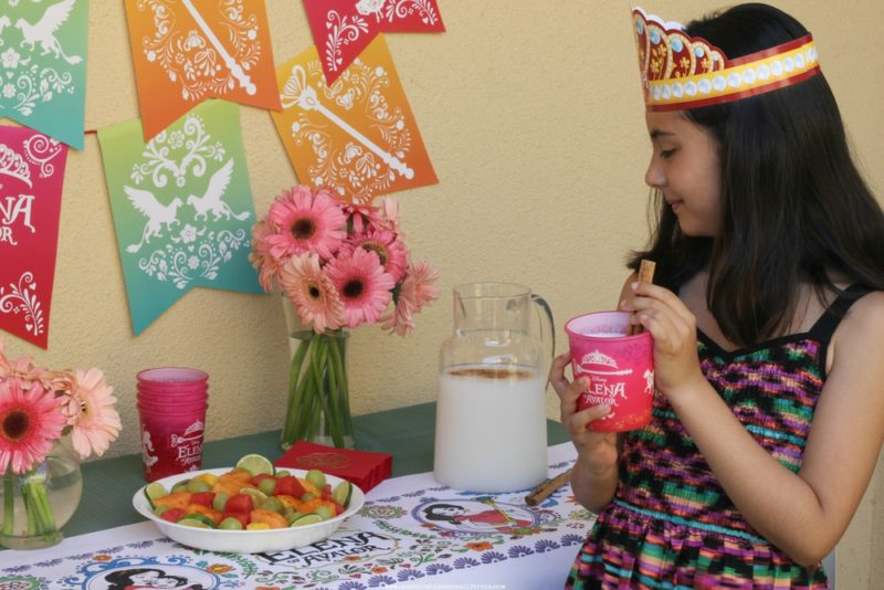 princesa-elena-of-avalor-horchata-receta