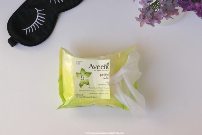 aveeno-positively-radiant-wipes proteger la piel