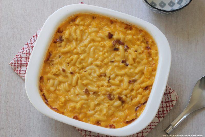 macarrones-con-queso-y-tocineta