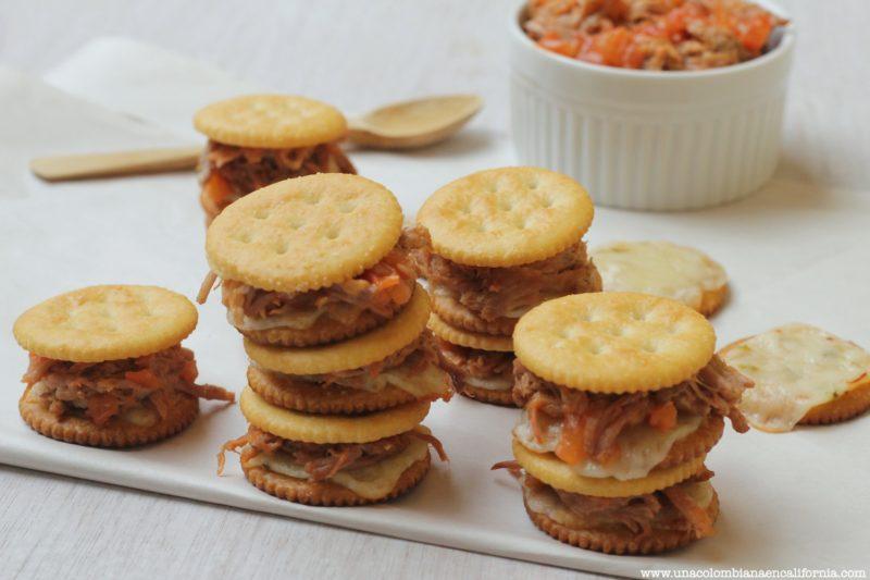 sandwiches-de-galletas-y-carne #LetsMerienda