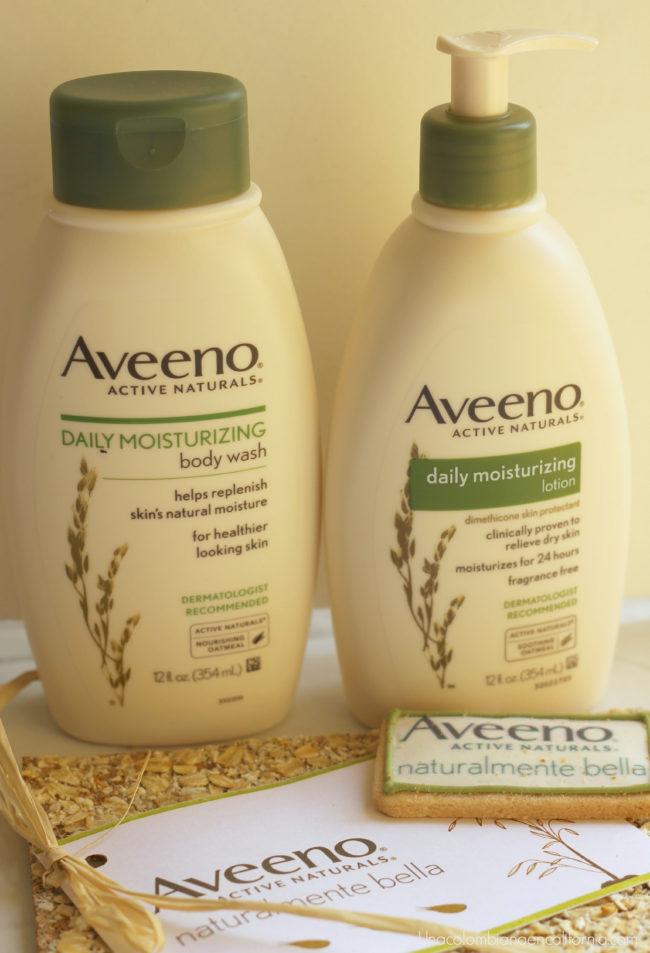 hidratacion profunda con aveeno daily moisturizing