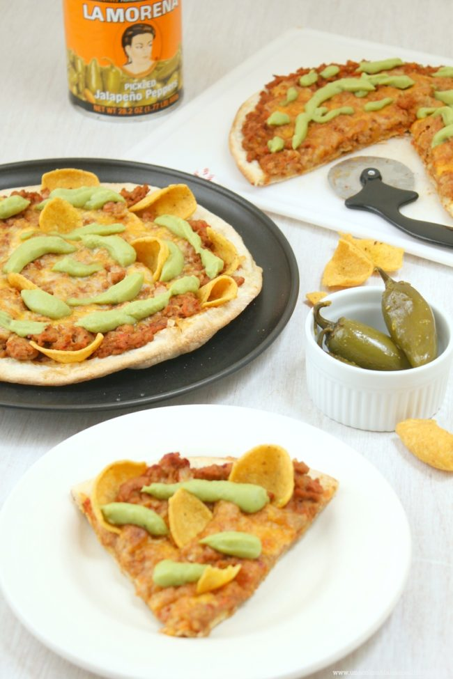 Pizza a la mexicana La Morena