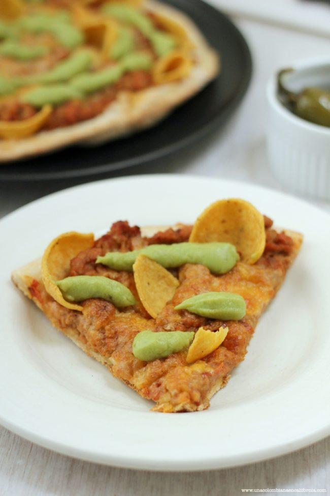 pizza a la mexicana